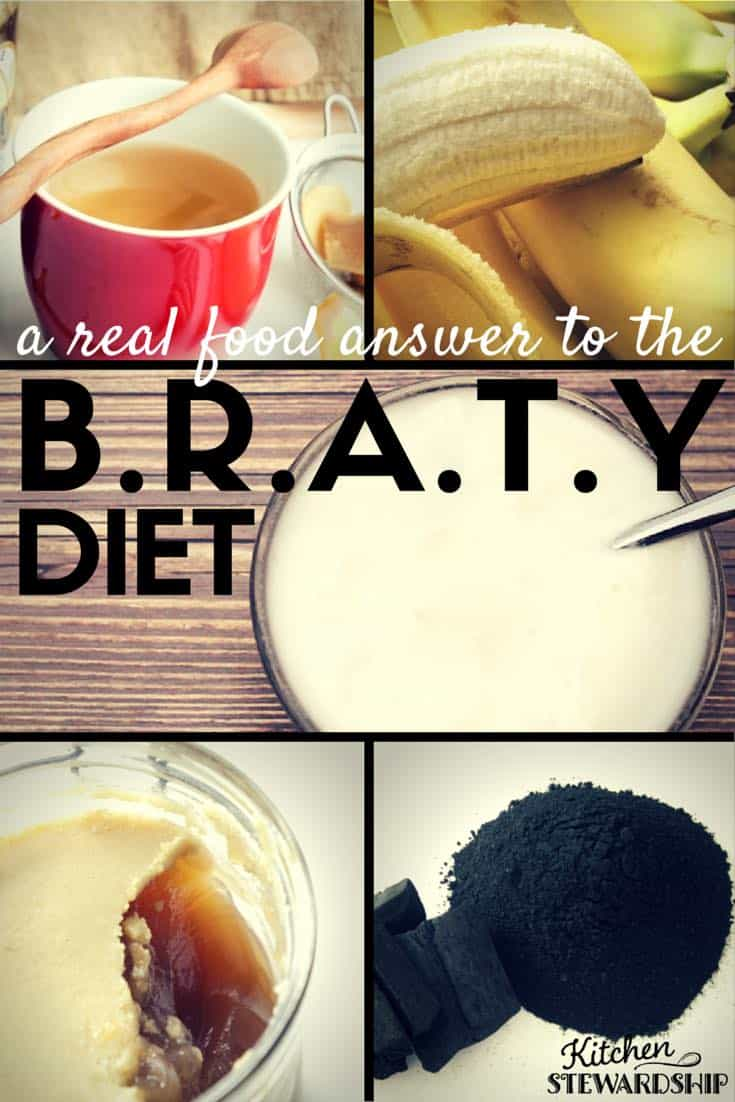 What is in the brat diet? healthy BRATY diet with real food