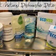 Seeking a Natural Dishwasher Detergent that Isn't a Miserable Failure