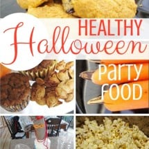 Quick and Easy {NO SUGAR} Elementary School Halloween Party!