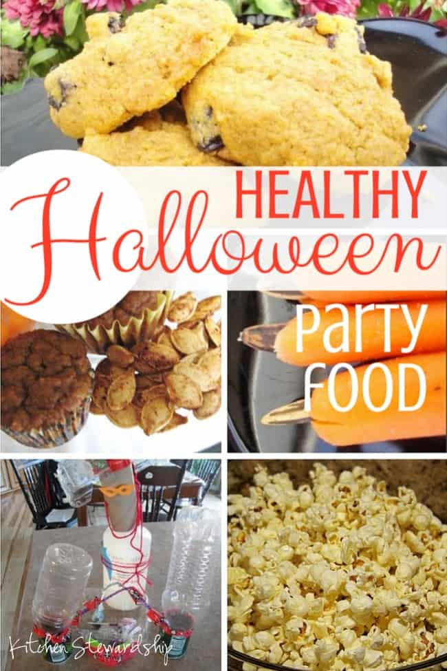 No sugar or artificial dyes (almost) at this healthy school Halloween party. Plan games, activities, and real food without too much prep work.