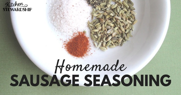 Homemade Sausage Seasoning
