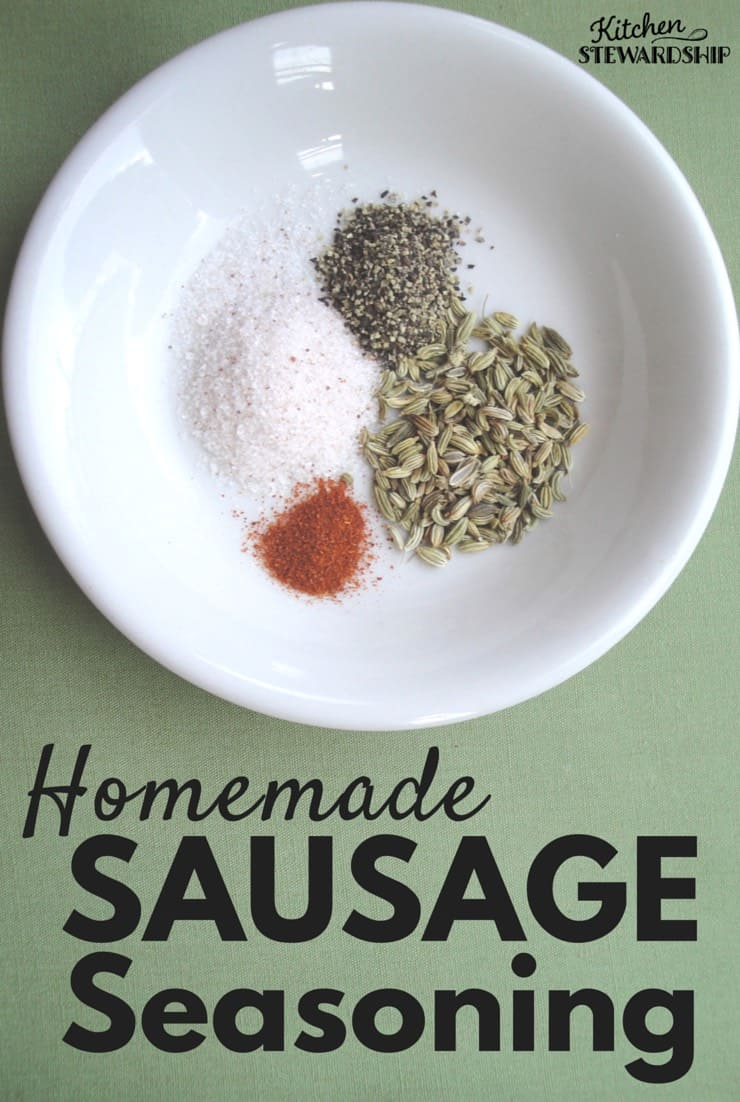 Use ANY meat with this easy DIY sausage seasoning recipes. Avoid MSG, sugar, and chemical additives by making homemade Italian or spicy sausage with just a few simple ingredients.