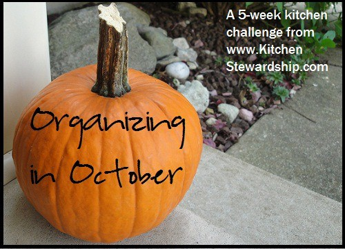 Organizing in October
