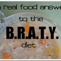 Is the BRATY Diet Compatible with Real Food?