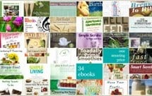 34 Healthy Living eBooks for Less Than a Dollar Each!
