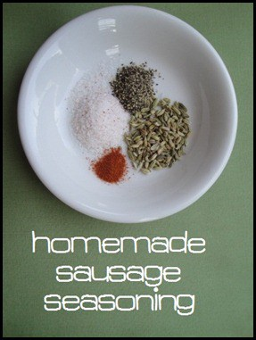 How to Make Easy Homemade Sausage Seasoning with any ground meat you can find