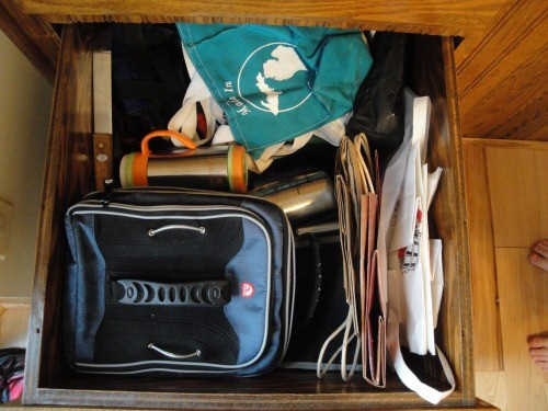 lunchbox drawer