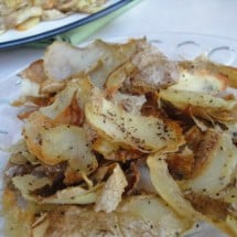 A Real Food Alternative to Potato Chips: Munchy, Crunchy, Salty, and Nourishing!