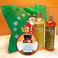 Extreme Hair Gift Bag with Serum