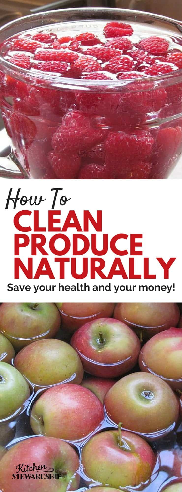 How To Clean Produce Naturally