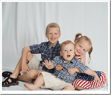 all 3 kids
