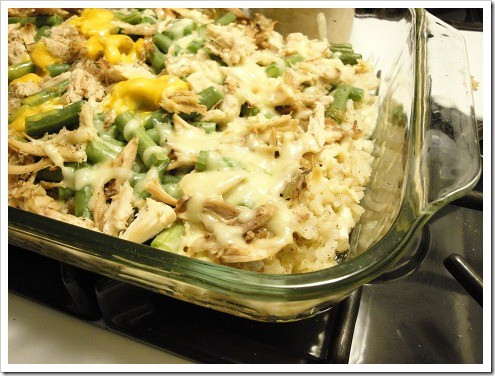 chicken w green bean rice casserole (5) smaller