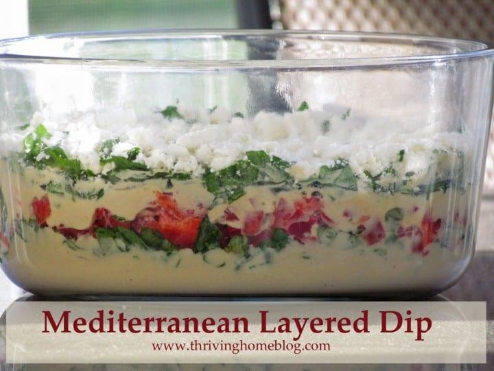Mediterranean Layered Dip