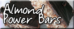 Almond Power Bars dairy free