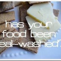 "Quit ""Real-Washing\"" my Clean Eating!"