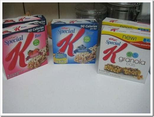 Trans Fats in Special K Bars