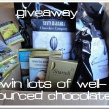 What is REAL Chocolate? Want Some? {GIVEAWAY–NOW CLOSED, over $200 value}