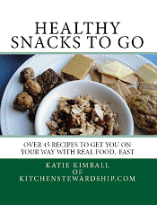 Healthy Snacks to Go cover sidebar