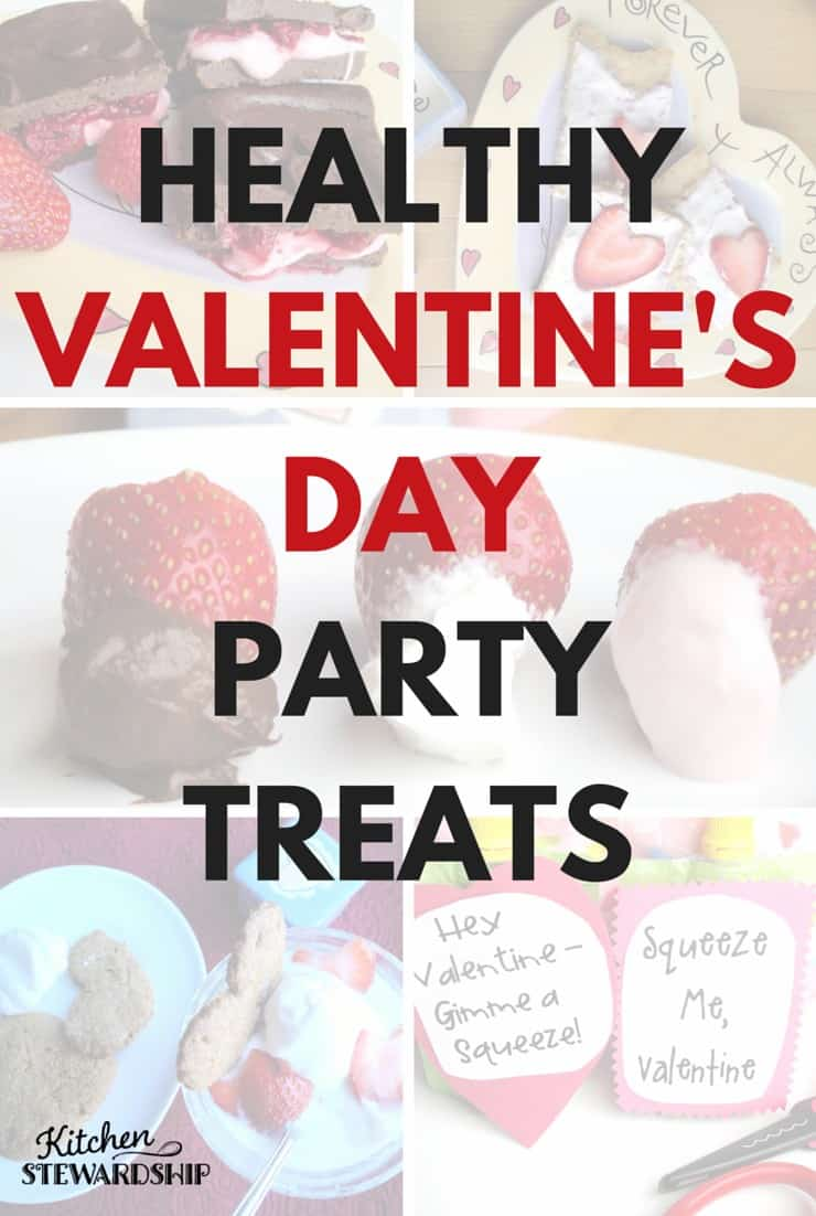 Healthy Valentines Day Party Treats