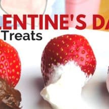 Healthy Valentine's Day Party Treats (& Games)