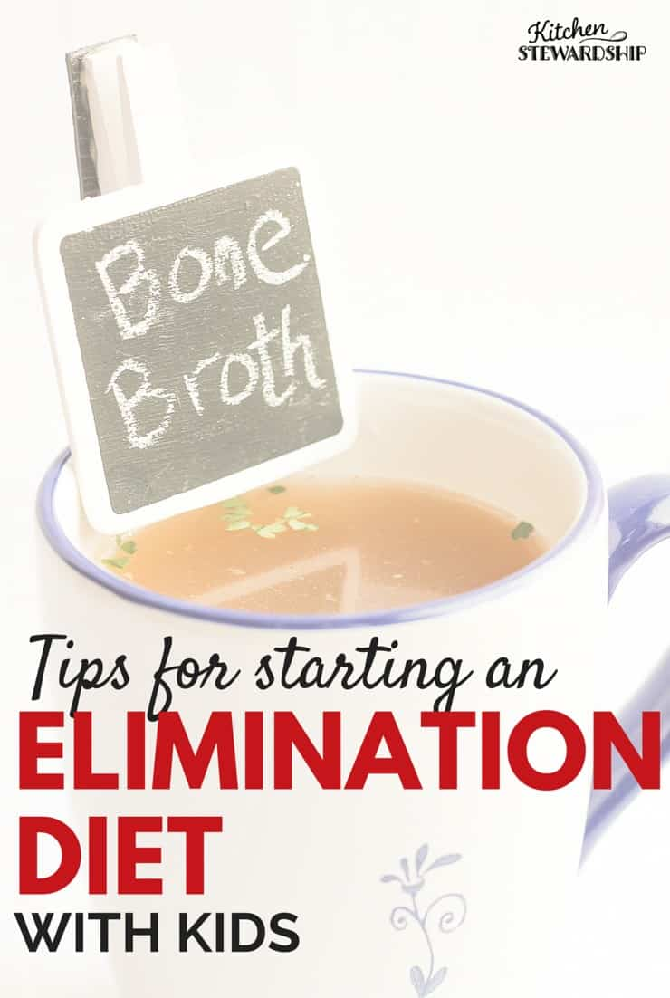 Tips for starting an elimination diet with kids