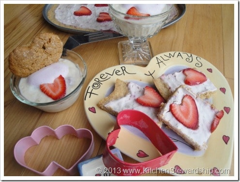 Valentine's Day Healthy Party Desserts