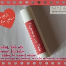 My Favorite Readers Get a Freebie Favorite Lip Balm! {Today Only}