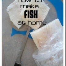 Friday FAST Food: Cooking Fish at Home (& a Recipe for Creamy Alaskan Halibut with Caramelized Onions)