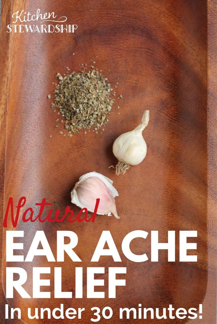Natural Ear Ache Relief