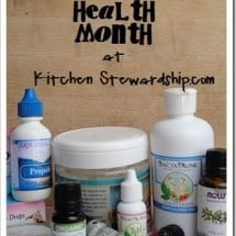 Your Natural Medicine Crash Course Package {GIVEAWAY-NOW CLOSED $115 Value}