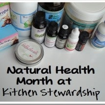 Monday Mission: An Introduction to Natural Health Month