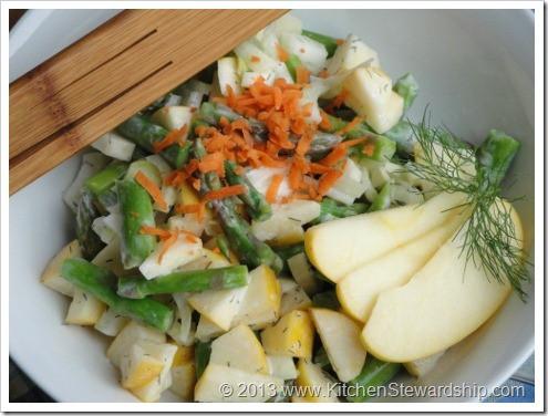 Springtime Asparagus Apple Fennel Salad with Dilly Dressing (12) (475x356)