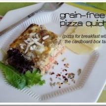 Recipe Connection: Grain-free Pizza Quiche