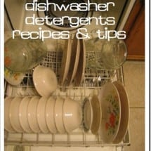 Have You Ever Successfully made a Homemade Dishwasher Detergent Recipe?