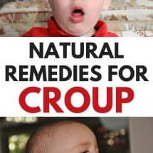 It's Scary When Your Child Can't Breathe (Natural Remedies for Croup)
