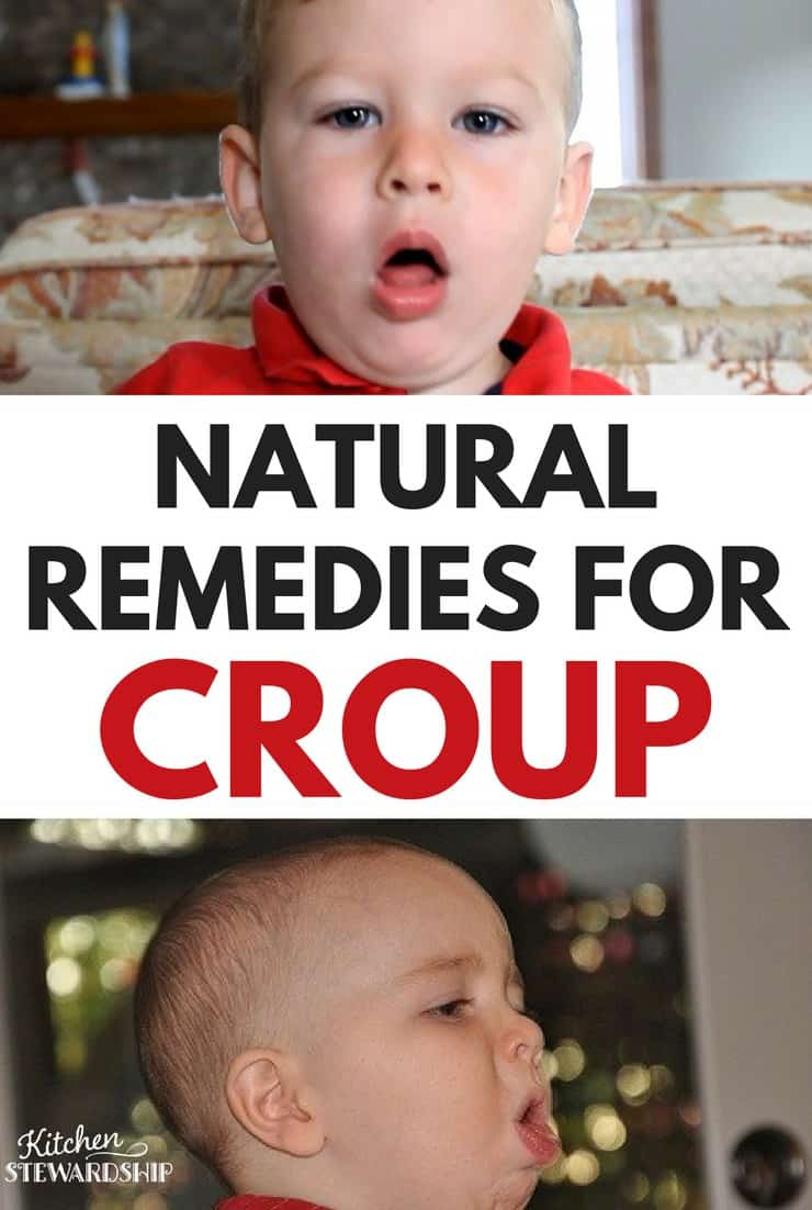 Croup can be scary in young children. I've got a great list of natural remedies to help fight it.