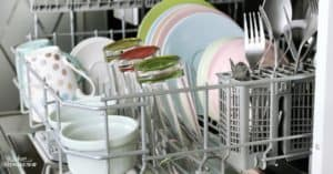 Natural dishwasher detergent recipes from around the web + helpful readers...comb through these ideas for a homemade dishwasher soap and find the one that's right for your water.