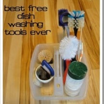 One Quick Tip: Two Surprising Tools for Washing Impossible Dishes