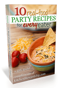 10 Real Food Party Recipes for Every Eater