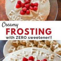 Recipe Connection: Cake Frosting Without any Sweetener at All