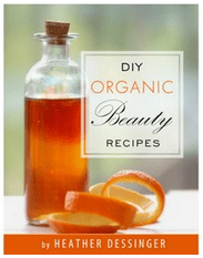 DIY Organic Beauty Recipes eBook is excellent for using your standard kitchen ingredients as beauty products!