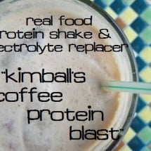 How to Replenish Your Energy After a Workout {Recipe: Kimball's Coffee Protein Blast}