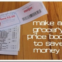 Monday Mission: Make a Grocery Price Book