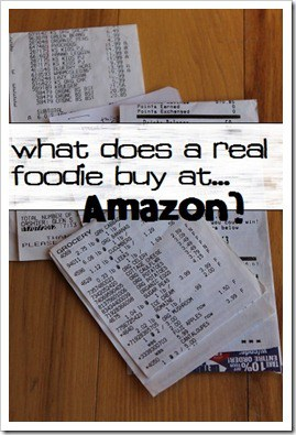 What Does a Real Foodie Buy at Amazon
