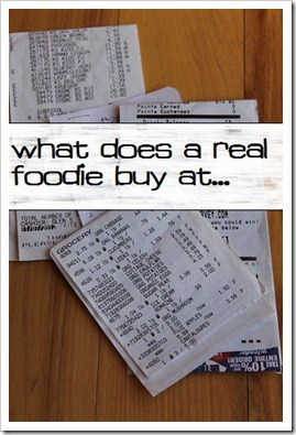 What Does a Real Foodie Buy at