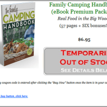 The Family Camping Handbook: Real Food in the Big Woods, 2nd edition