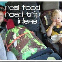 Real Food Road Trip {Eat Well, Spend Less}