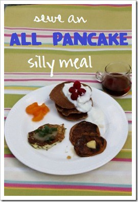 3 Kinds of Pancakes - One Silly Meal
