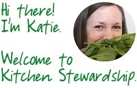 Welcome!  Meet Katie.
