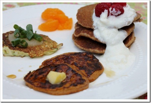 silly pancake meal - 3 kinds of pancakes (7) (475x317)